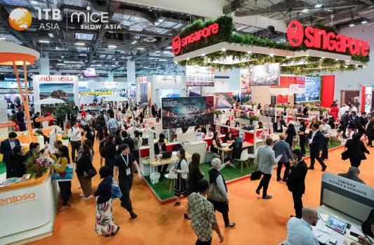 A edição 2019 da feira ITBAsia, realizadanoSandsExpoandConventionCenter, MarinaBaySands, em Cingapura, conquistou um número recorde de 13.000 participantes de 132 países. Este ano, a feira contou ainda com mais de 1.300 expositores, mais de 1.250buyers e um total demais de 27.000 reuniões realizadas