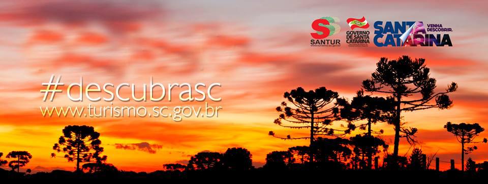 Mapa do Turismo de Santa Catarina (SC) acaba de ser atualizado pela Agência de Desenvolvimento do Turismo de SC (Santur).