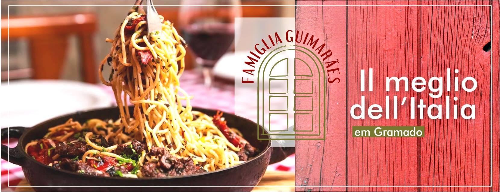 Agora se você está em Gramado ou estará indo para o festuris e Natal luz, anote aí o melhor endereço gastronômico italiano. Famiglia Guimarães