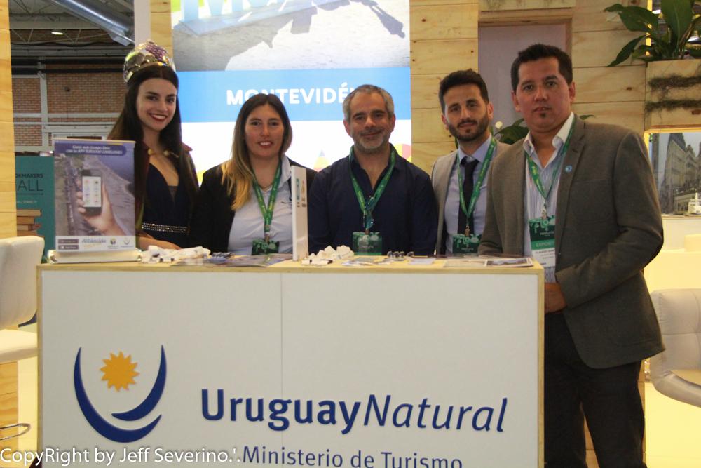 Um dos destinos mais cobiçados da América do Sul – Montevidéu, esteve presente na 31ª edição na Feira Internacional de Turismo.