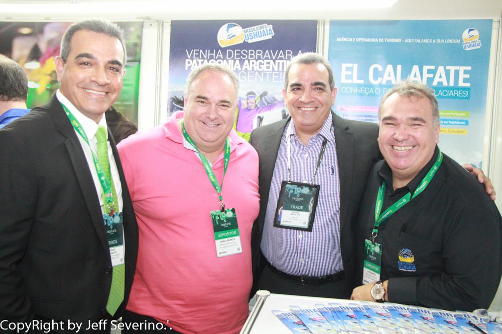 Uma das primeiras a confirmar presença no Brazil Travel Market foi a equipe da Brasileiros em Ushuaia