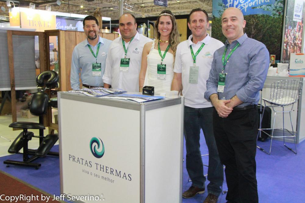 O turismo termal da região Oeste de Santa Catarina, esteve representado pelo Pratas Thermas Resort, de São Carlos, na 31ª edição do Festuris Gramado