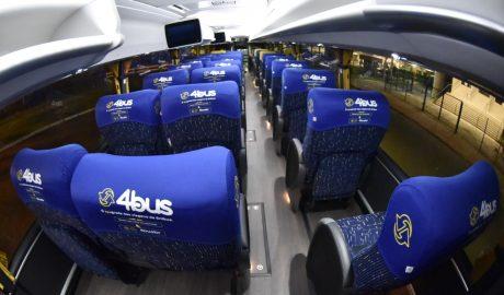 App oferece viagens de ônibus compartilhadas até 60% mais baratas