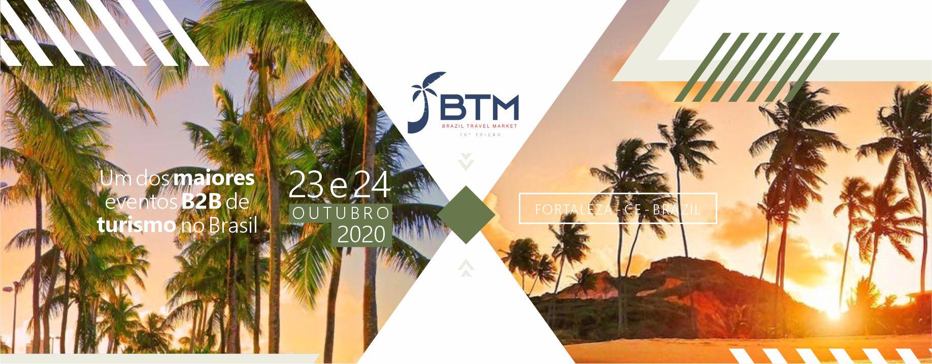 Enquanto isso, nos dias 23 e 24 de outubro em Fortaleza, acontece o maior feira de turismo do Norte/Nordeste do Brasil, com a presença maciça do trade de turismo nacional e internacional.