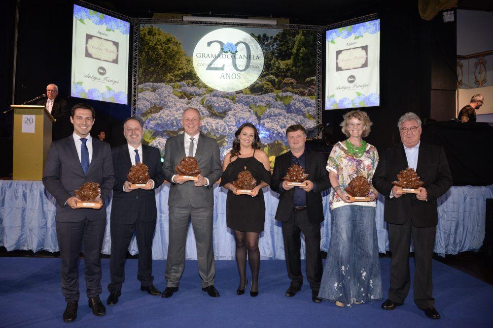 O Gramado, Canela Convention & Visitors Bureau promoveu festa para comemorar seus 20 anos de atuação na Região