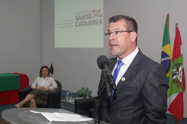 Nilton Pacheco - Novos membros do Conselho Estadual de Turismo tomam posse na Santur