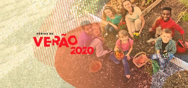 Crianças na roça: atividades na horta, orquidário, minhocário e festa da sustentabilidade estão entre as atividades durante toda a temporada de verão