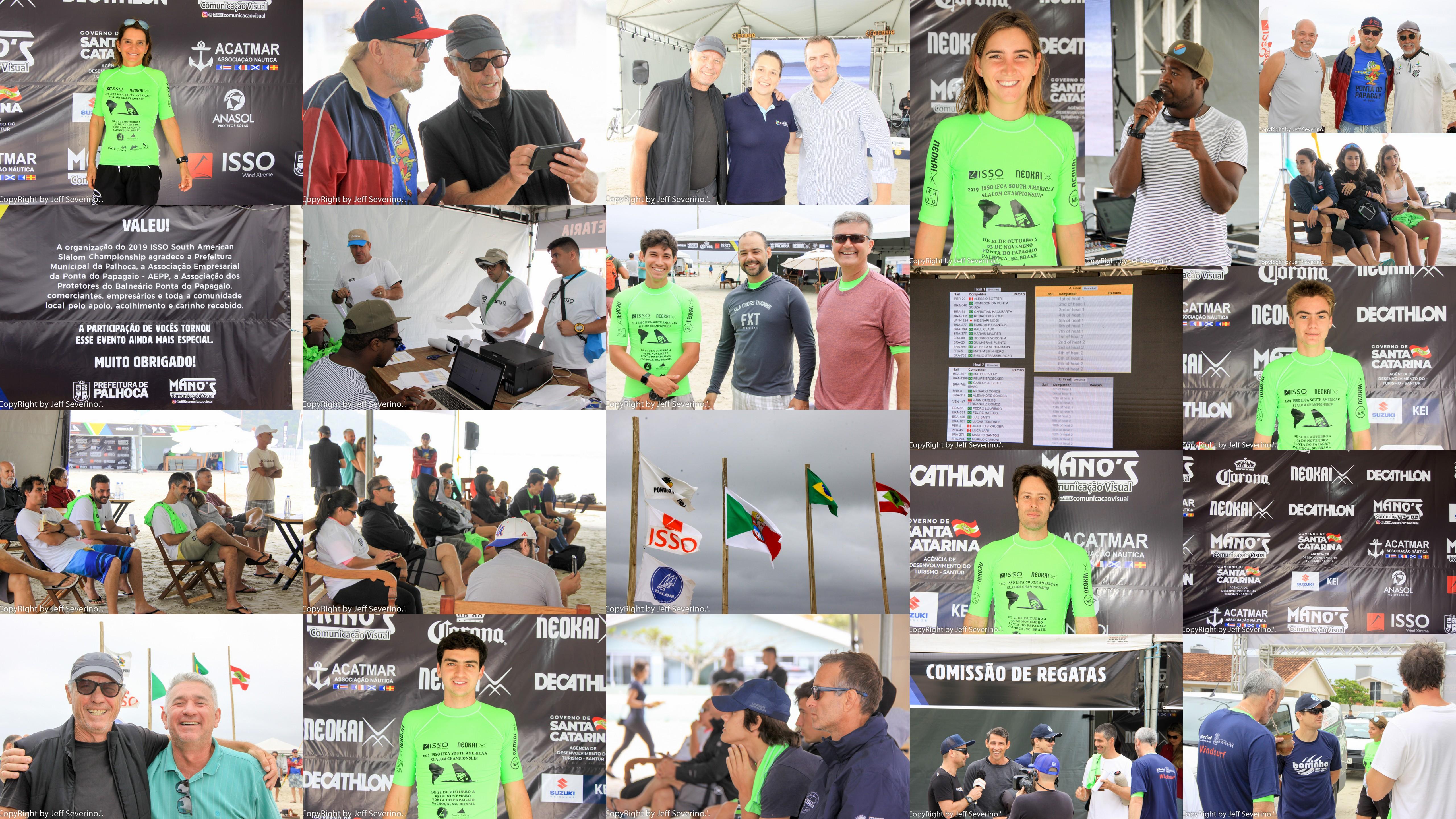 Disputas prometem ser eletrizantes no 2019 ISSO IFCA South American Slalom Championship em Palhoça (SC) a partir desta sexta (1º)