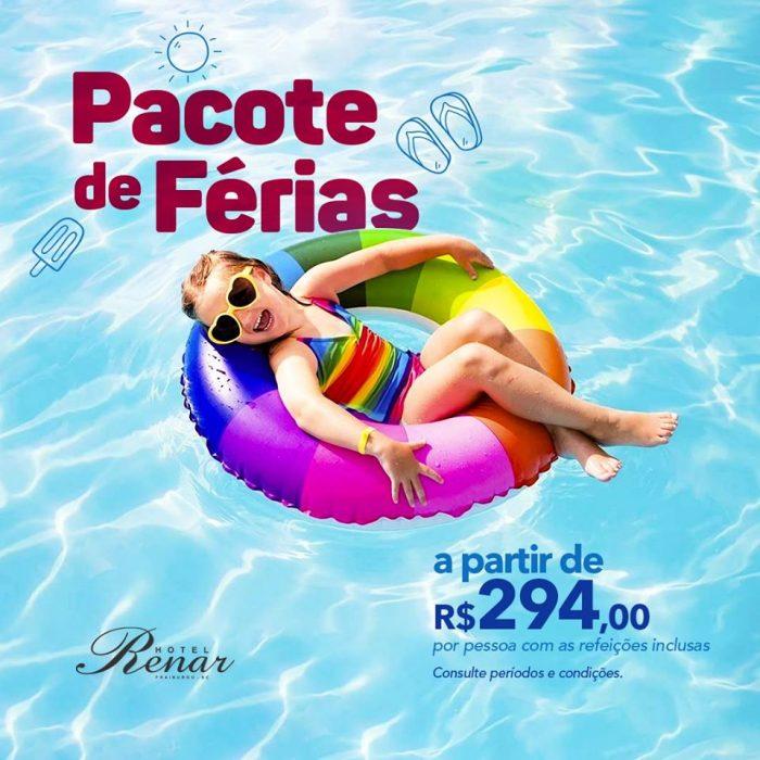 Hotel Renar - Férias - Verão 2020 - Divulgação
