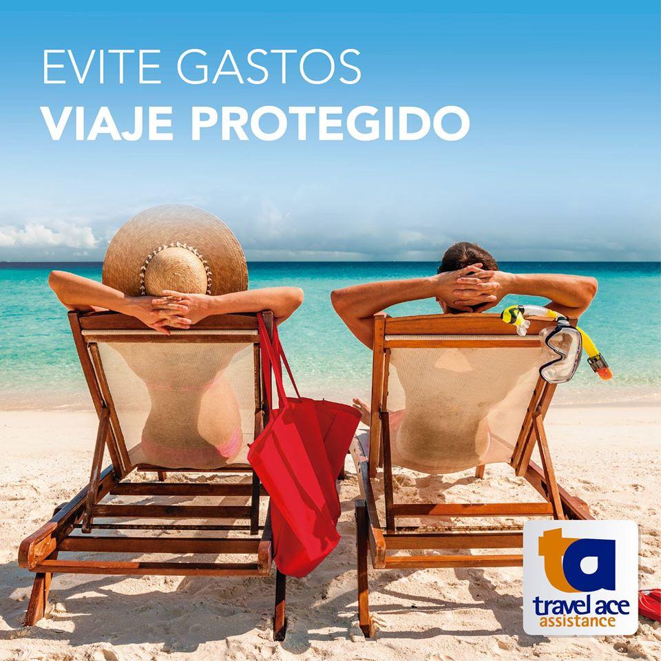 Turismo em alta .Travel Ace viaje seguro