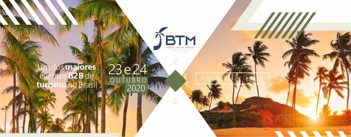 Brasil Travel Market - A maior feira de turismo do Norte e Nordeste do Brasil - Reserve seu estande. O Brasil e o mundo se encontram lá.