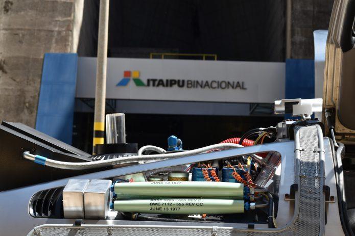 Itaipu - De Volta para o Futuro recarrega as energias na usina