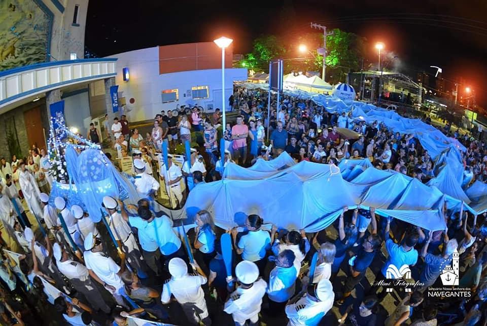 A festa de Nossa Senhora dos Navegantes, no litoral norte de Santa Catarina
