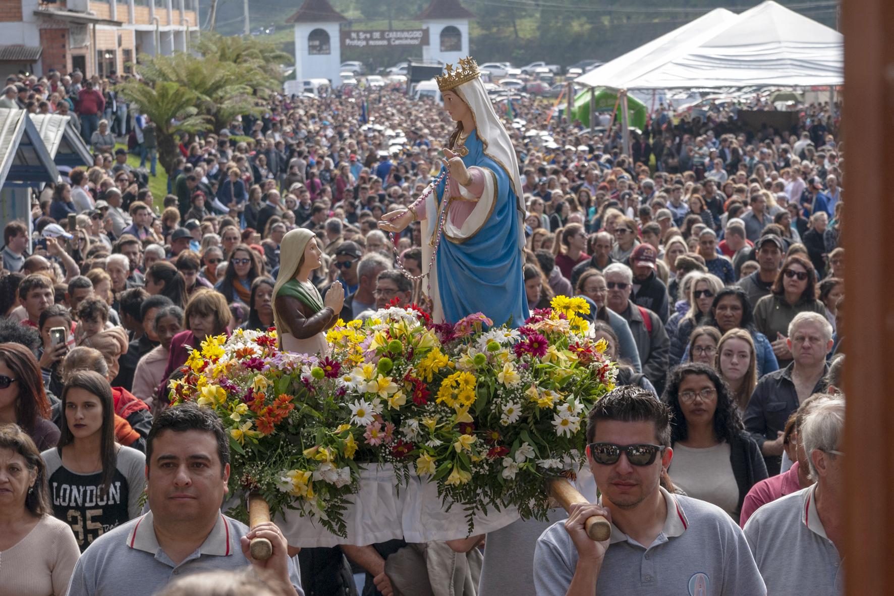 O Santuário de Caravaggio de Canela oportunizará momentos de muita fé e devoção - Foto: Divulgação