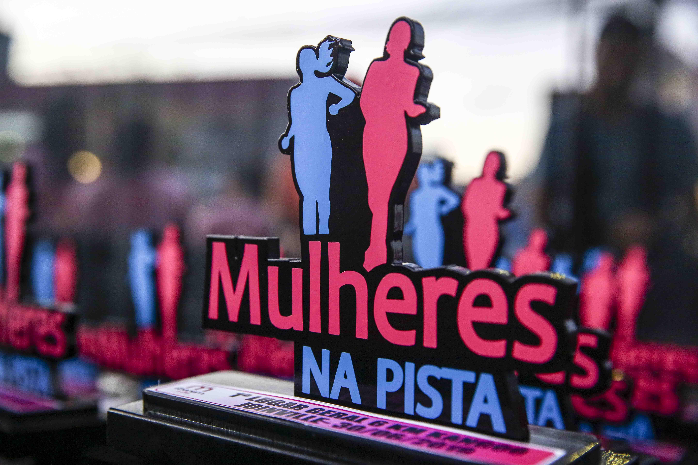 Só para elas - Corrida de rua exclusiva comemora Dia Internacional da Mulher em Floripa Foto: Carlos Junior - Mulheres na Pista