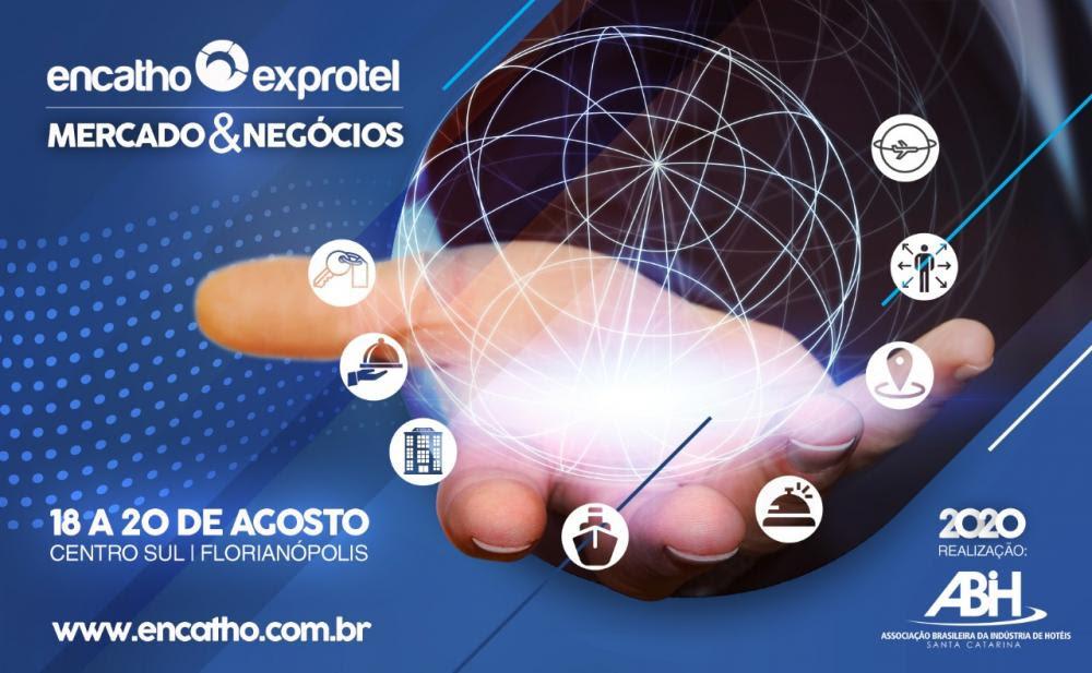 Encatho & Exprotel 2020, tradicional evento organizado pela Associação Brasileira da Indústria de Hotéis de Santa Catarina