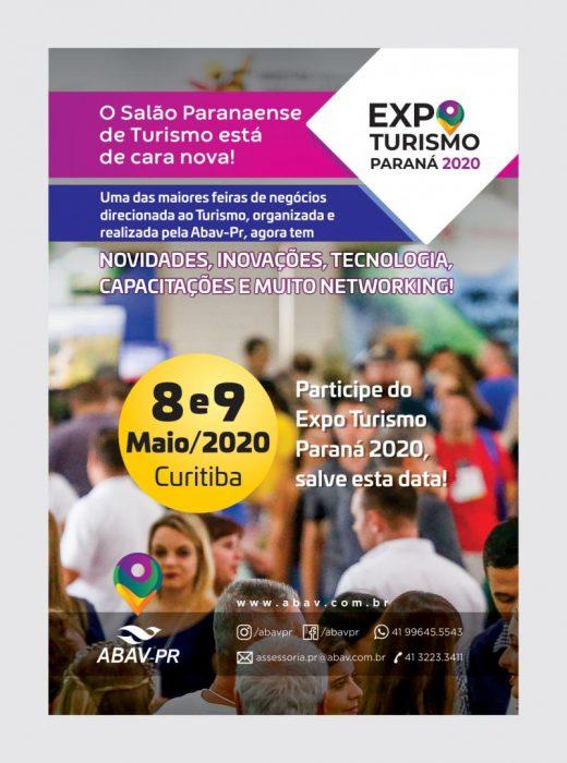 Expoturismo Paraná 2020 Brasil é
