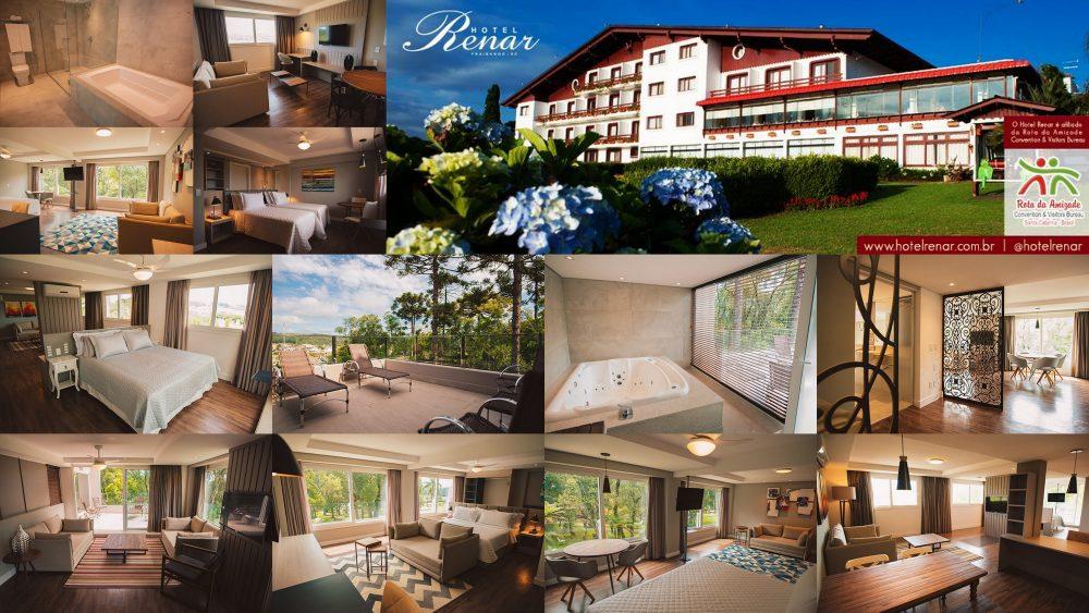 Hotel Renar em Fraiburgo SC, inaugura nova ala