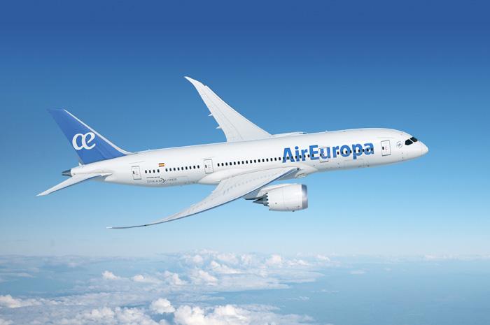 Air Europa passa a operar com o Boeing 787-9, com nova configuração na classe business