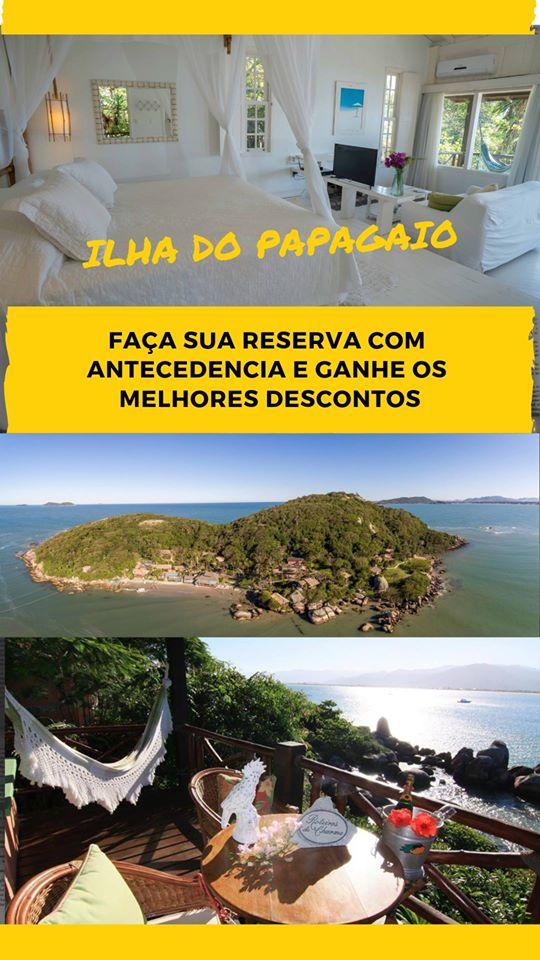 Pousada Ilha do Papagaio - Reserva com antecedência ganha descon Brasil éto