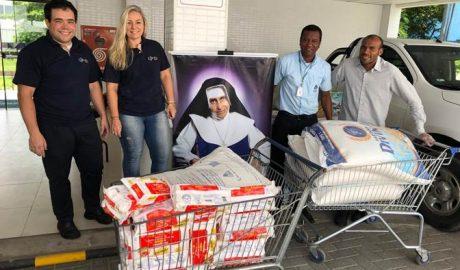 Toneladas de alimentos são doadas pelo GJP Hotels e Resorts