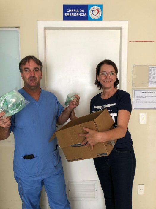 Missão humanitária realizada pelo Aeroclube de Santa Catarina