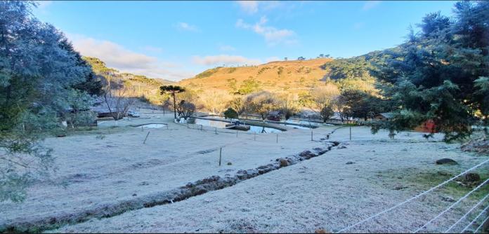 Santa Catarina já tem 28 dias com temperaturas abaixo de zero