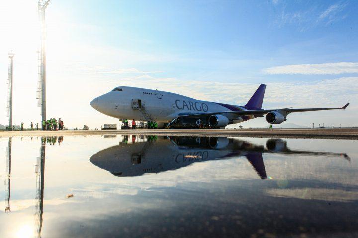 Floripa Airport recebe aeronave de grande porte