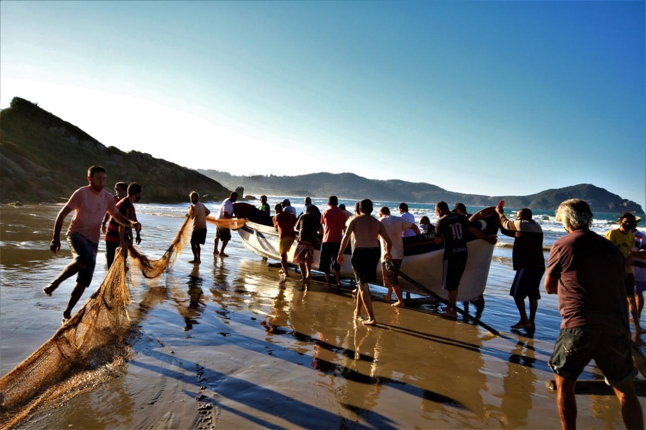 Pesca da Tainha - Fotos mídias sociais divulgação