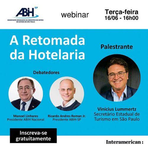 Hotelaria e Turismo do Estado debatem retomada