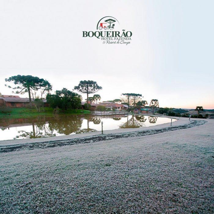 Serra Catarinense fica abaixo de zero nesta última semana