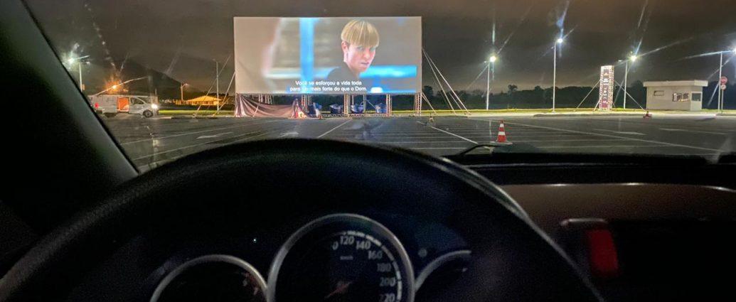 Floripa Airport ganha Cine Drive-In com espaço para 110 carros