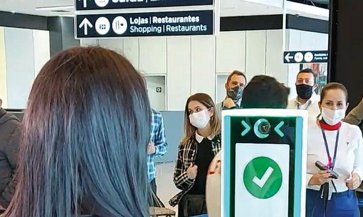 Embarque seguro com reconhecimento facial no Floripa Airport