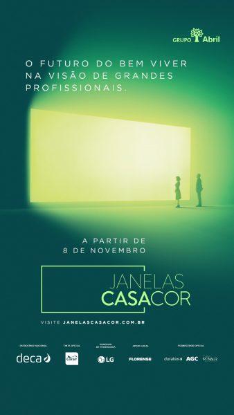 """Santa Catarina terá edição histórica do """"Janelas CASACOR"""""""