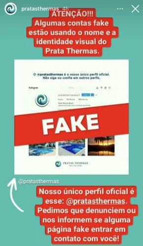 Hotelaria vem sofrendo e alerta para falsos perfis nas redes sociais