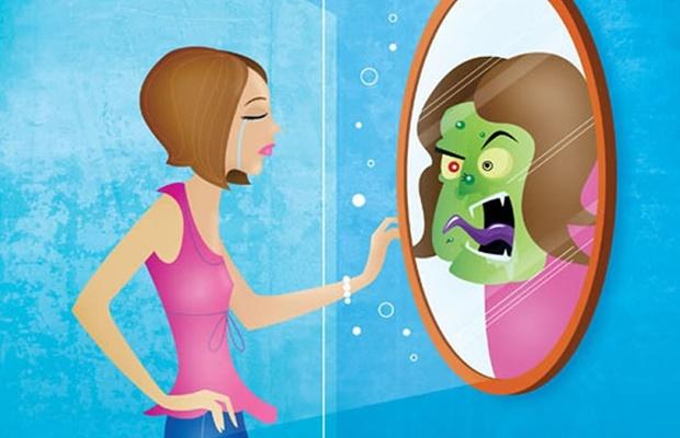 A lamentável preocupação da criatura humana com sua aparência física