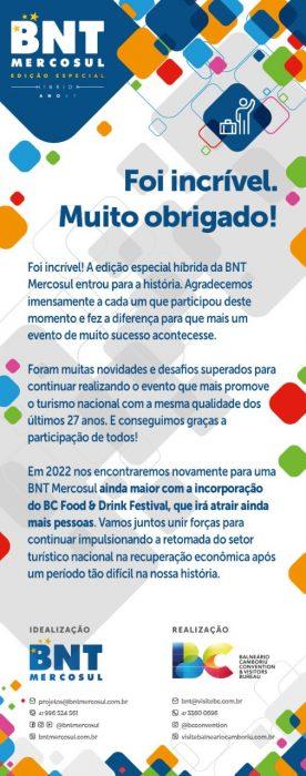 BNT Mercosul impulsiona o turismo brasileiro em grande feira virtual