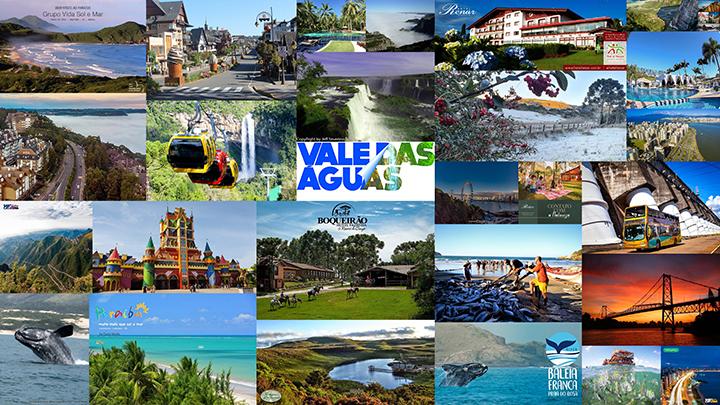 Sul e Nordeste do Brasil lideram como principais destinos de férias