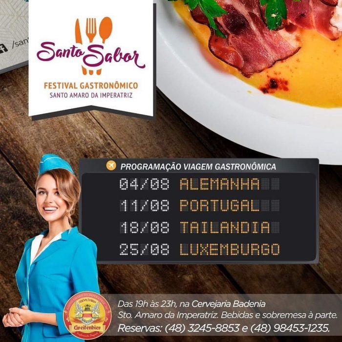 Santo Sabor - Festival Gastronômico de Santo Amaro da Imperatriz