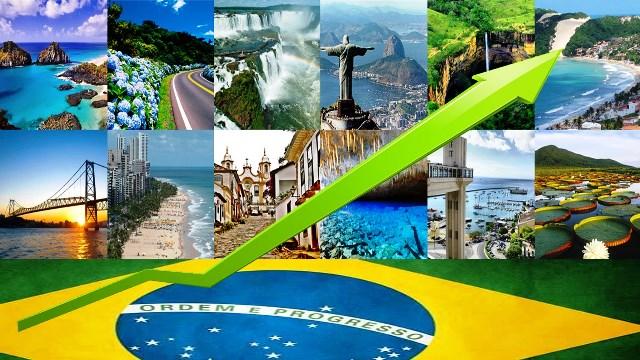 Cresce atividades turísticas no Brasil demonstrando reaquecimento